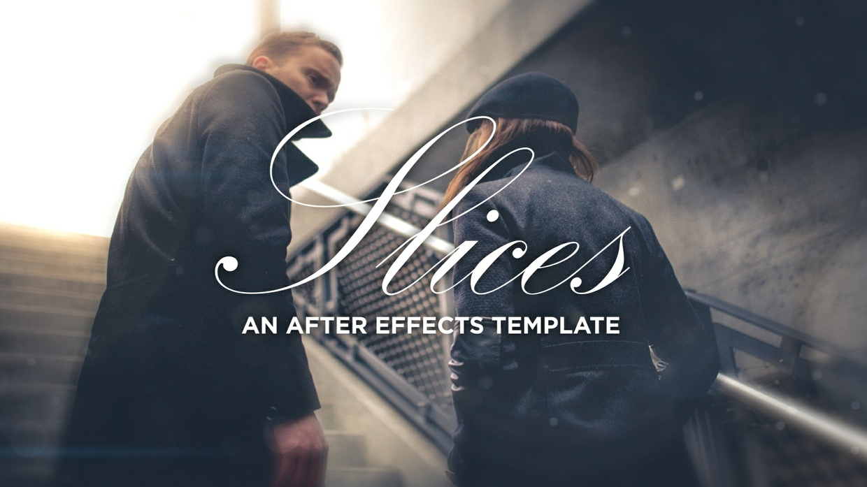 'Slices' Template for After Effects CC