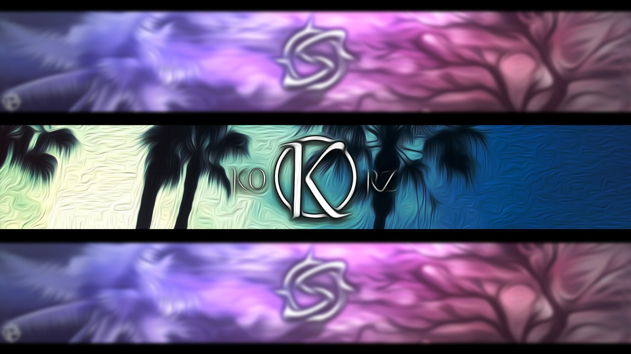 YouTube banner by .stap