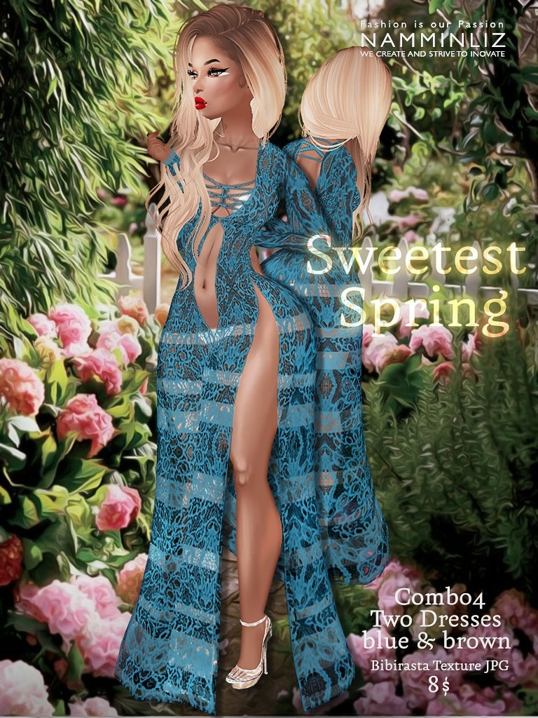 Sweetest Spring combo 4 Outfit ( Bibirasta textures JPG )