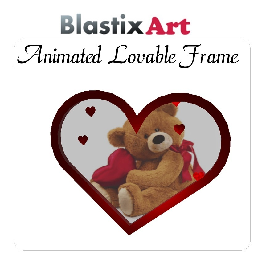 Animated  lovable  frame