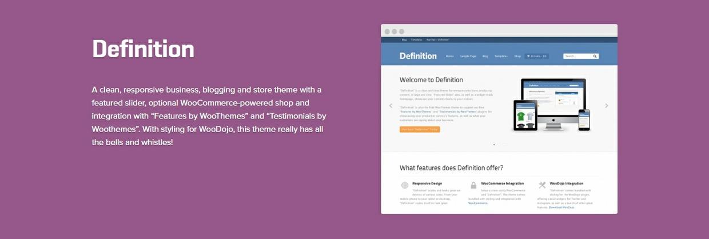 WooCommerce Definition 1.5.11 Theme WordPress