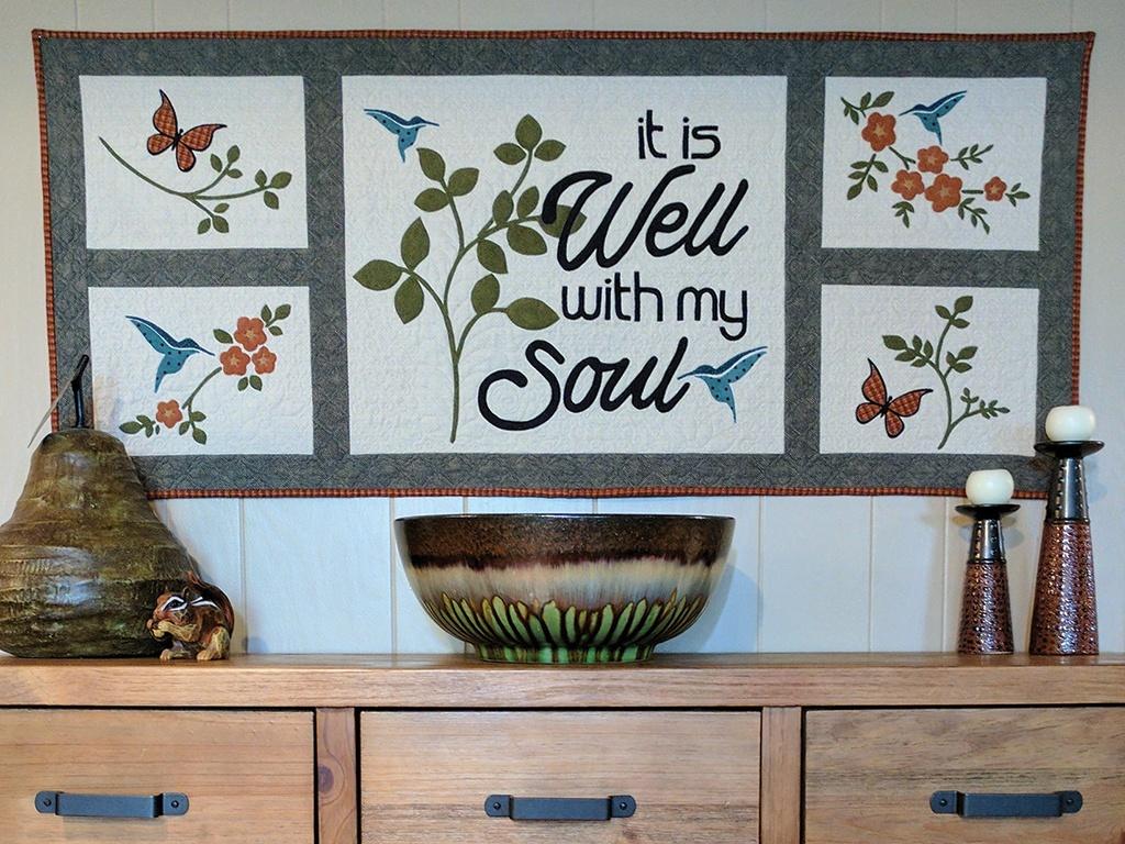 It Is Well Wall Art