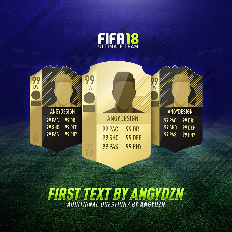 FIFA 18 Background pack V2 (PSD) (2 backgrounds)