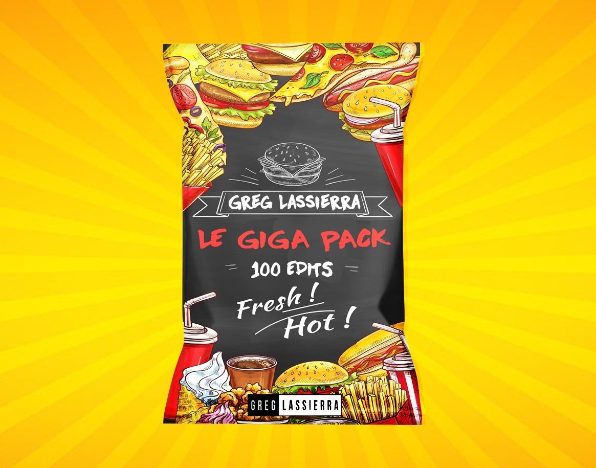 Greg LASSIERRA GIGA PACK ( 100 EDITS )