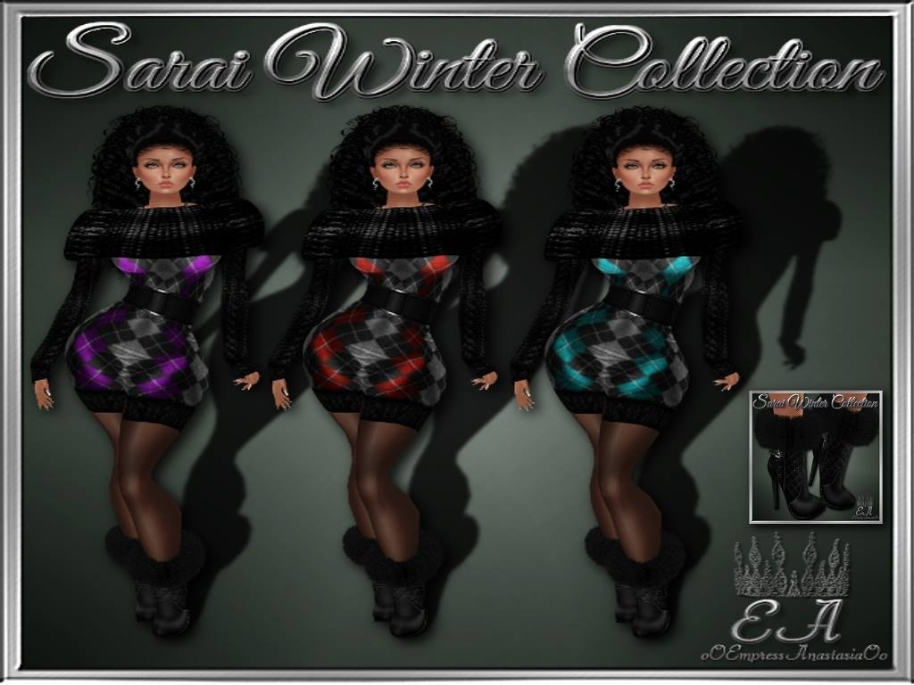 Sarai Winter Collection for FREE, NO RE-SELL RIGHTS!!!
