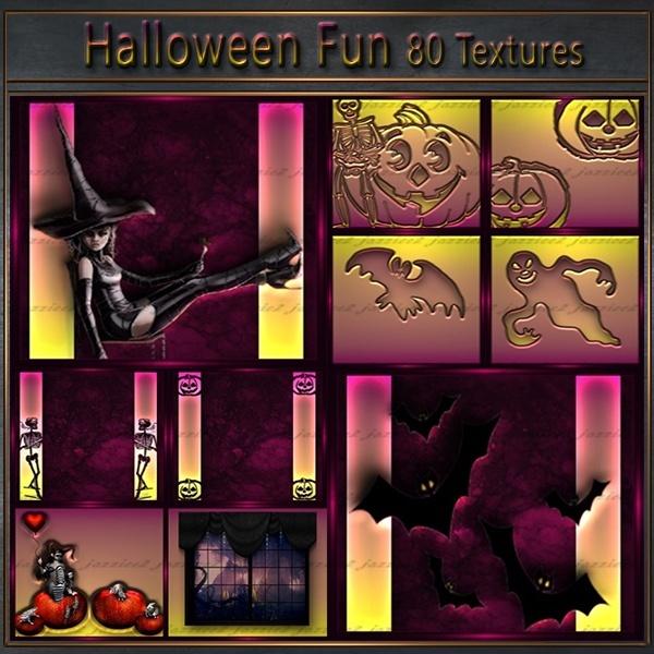 Halloween Fun 80 textures