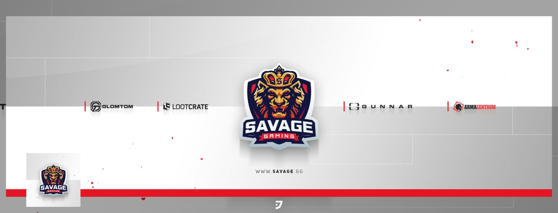 Savage Gaming White PSD