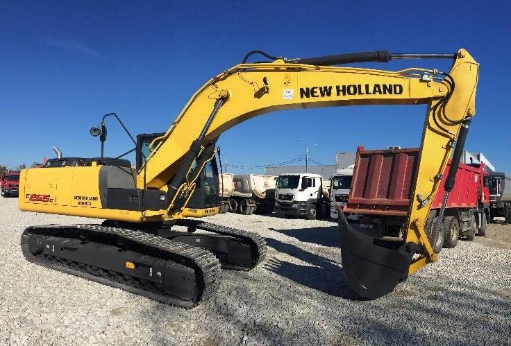 New Holland E225BSR Excavator Service Repair Manual Download
