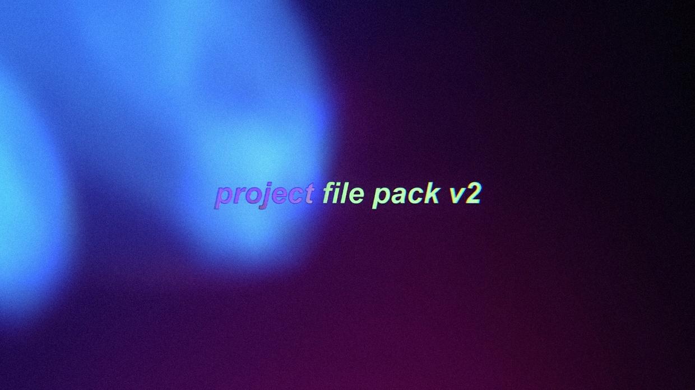 Dmtz Project File Pack 2