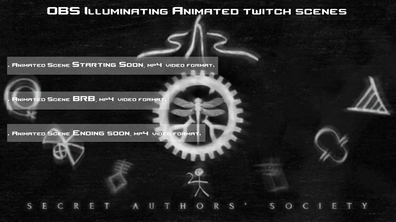 OBS Illuminating Animated twitch scenes