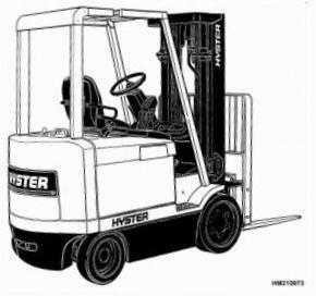 Hyster Electric Forklift F108 Series: E45XM2, E50XM2, E55XM2, E60XM2, E65XM2 Spare Parts List