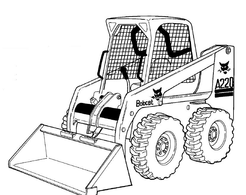 Bobcat A220 Loader Service Repair Manual Download