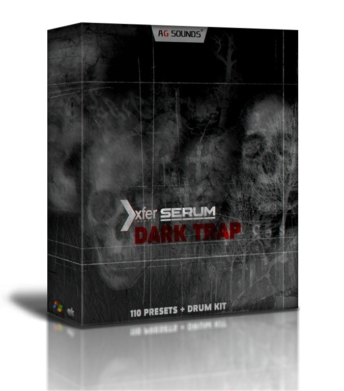 Dark Trap for Xfer Serum / Presets / Drum Kit