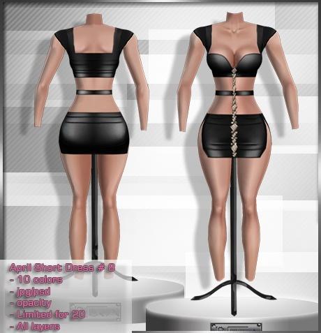 2014 Apr Short Dress # 8
