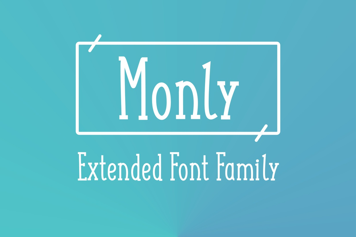 Monly Extended Font