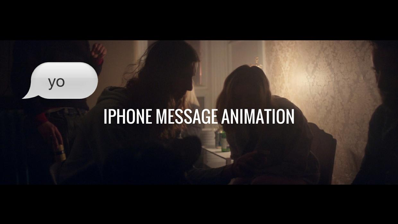 IPhone Text Animation Template (Premiere Pro CC)
