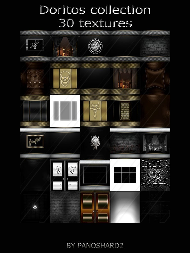 New four packages textures offer today