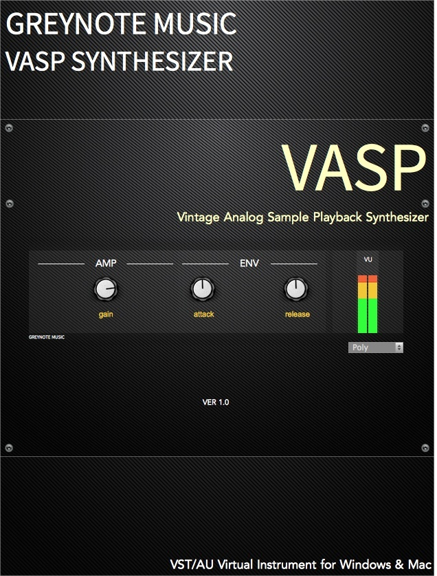 VASP Audio Unit Version (instruments 9-16)