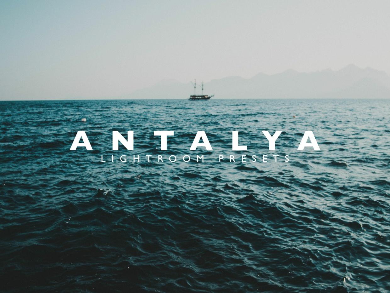 ANTALYA Lightroom Preset Pack