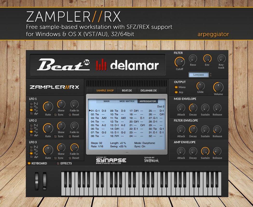 DX1/DX5 SLAP – Yamaha DX1 & DX5 sound bank for Zampler//RX workstation (Win/OSX plugin included)