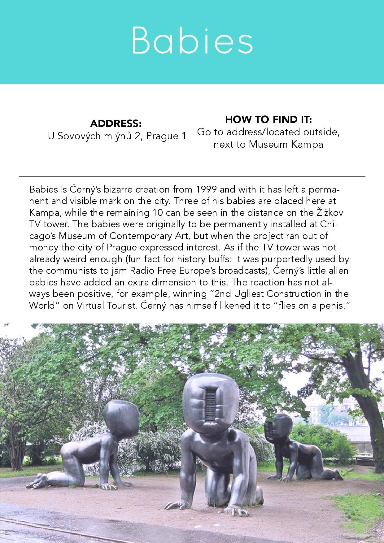 Best of Prague Off the Map: Downloadable Guidebook