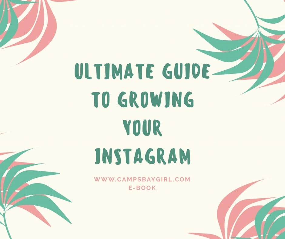 Ultimate Guide To Growing Your Instagram E-Book
