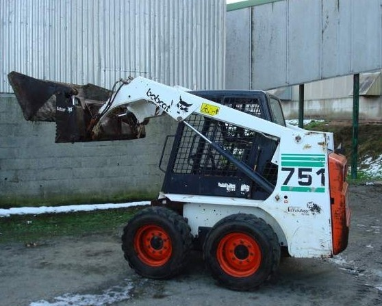 Bobcat 751 Skid Steer Loader Service Repair Manual DOWNLOAD (S/N 515730001 , 515620001 & Above)