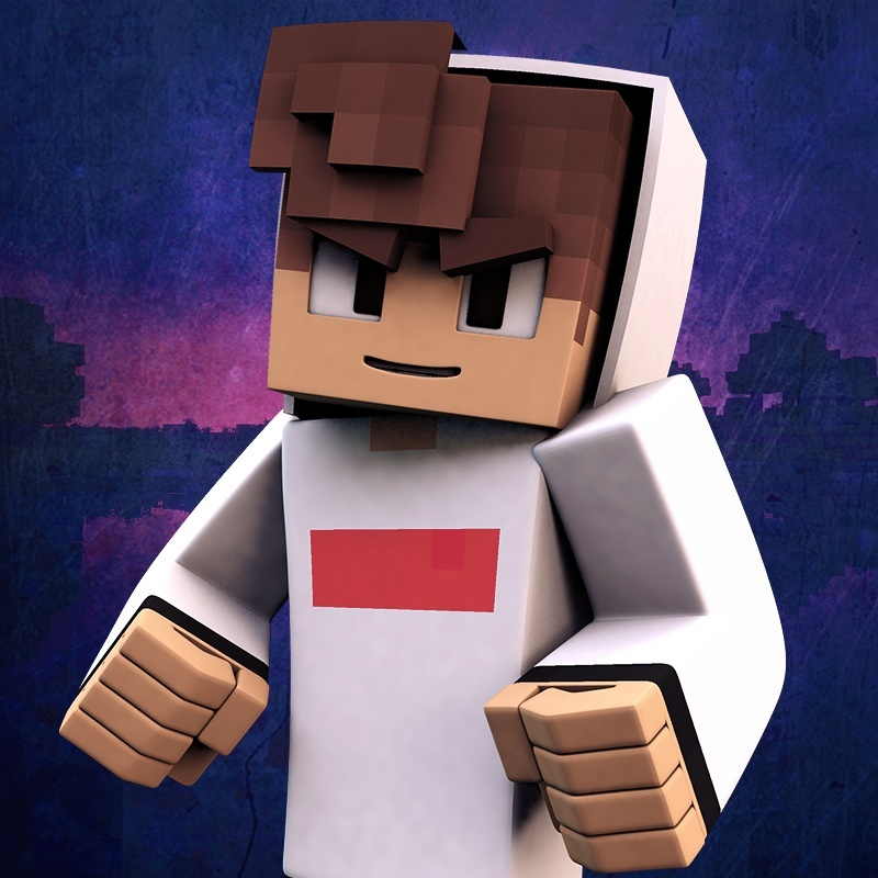 3D Minecraft Profile Picture