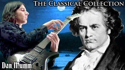 """Dan Mumm's """"The Classical Collection""""  6 Classical Metal Songs, Tabs and Backing Tracks"""