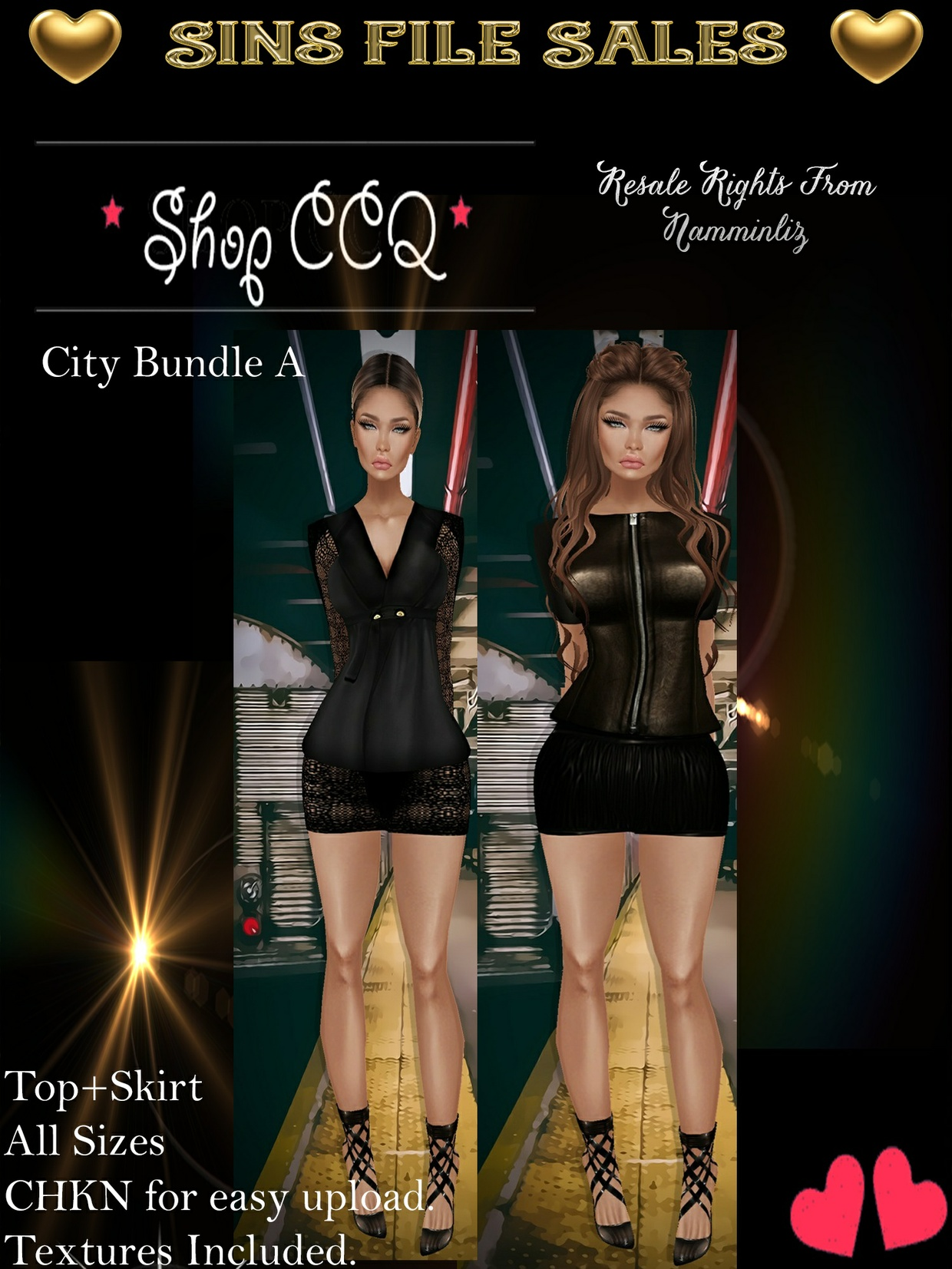 ♥City Bundle A