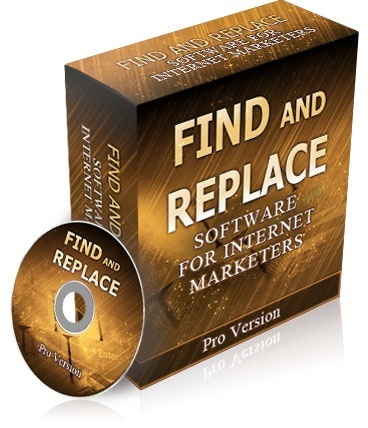 Find and Replace - Software