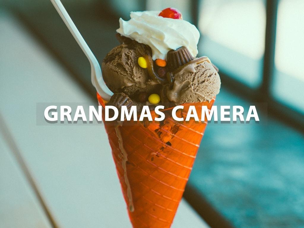 """Grandmas Camera"" - Lightroom Preset"