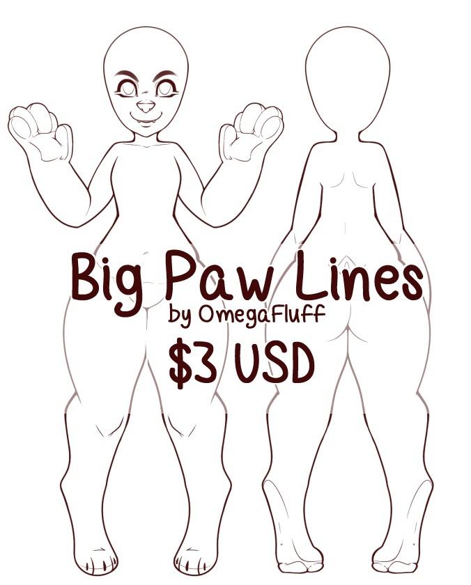 Big Paw Lines