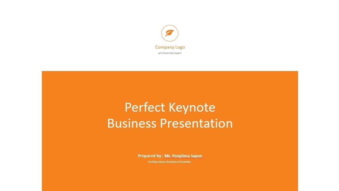 Perfect Presentation Template