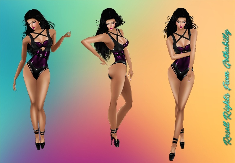 Latex Purple Package Catty Only!!!