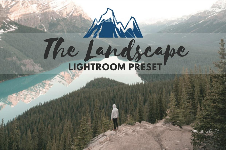 The Landscape Lightroom Preset