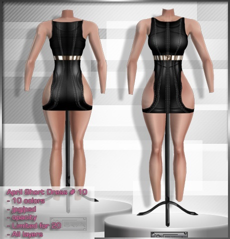 2014 Apr Short Dress # 10