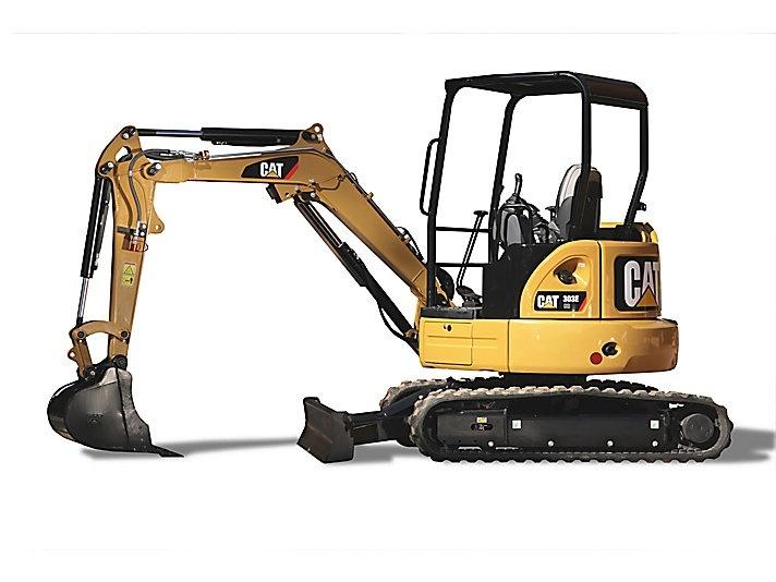 Caterpillar 303 CR Mini Hydraulic Excavator - Operation and Maintenance Manual S/N : DMA1-Up