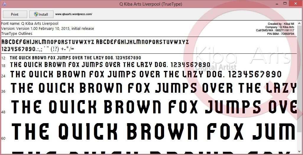 Liverpool FC Font