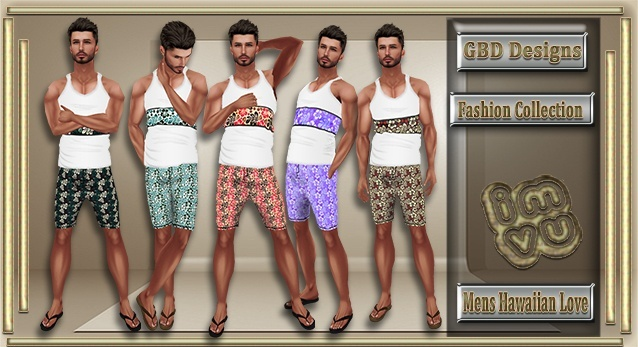 Men's Hawaiian Love Collection CATALOG ONLY!!