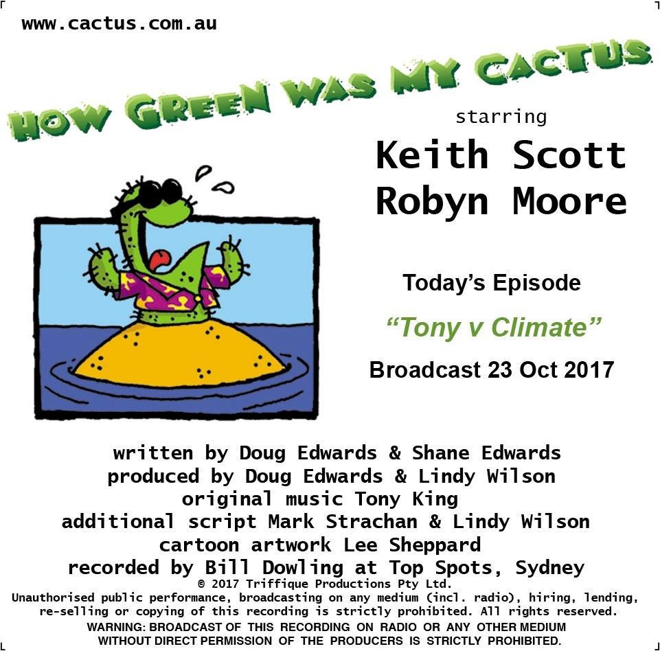 TONY v CLIMATE (23.10.17)