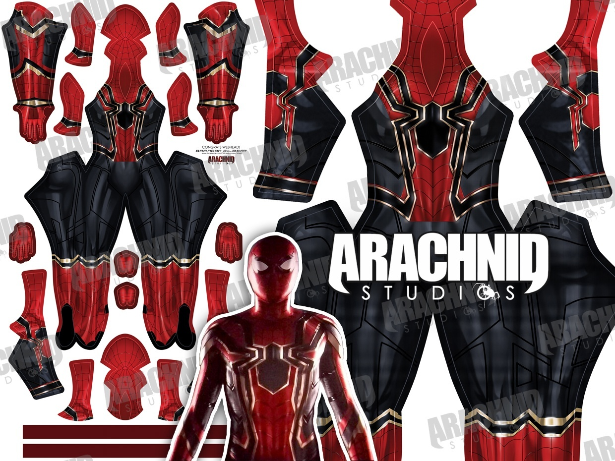 Iron Spider FEMALE Dye-sub pattern