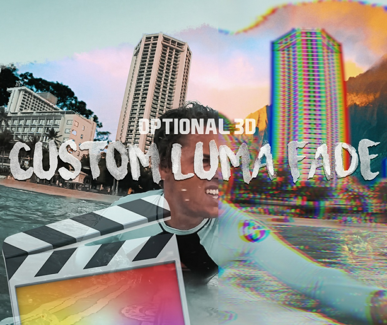 Luma Fade Transition Tools (optional 3D effekt) - Final Cut Pro X