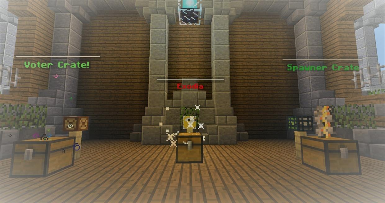 Premade minecraft faction server (Exodia) (cheap)