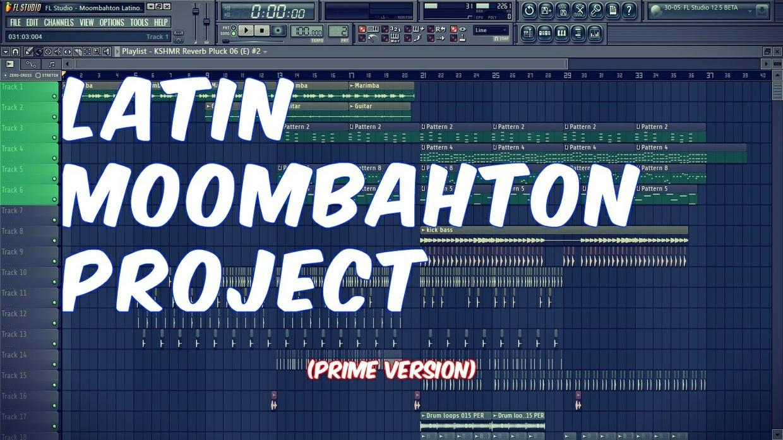 FL Studio - Latin Moombahton Project (Prime Version)