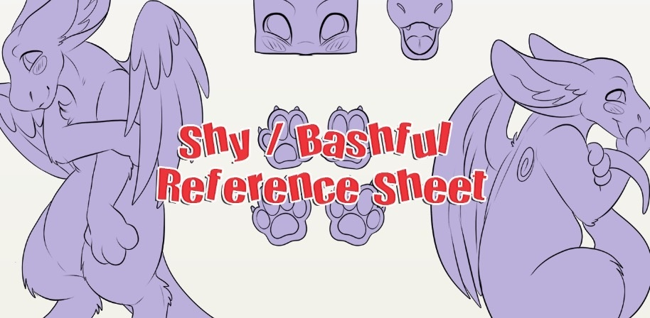 Shy Bashful Dutch Reference Sheet
