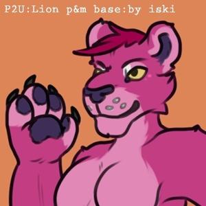 iski - p2u - lion papa & mama