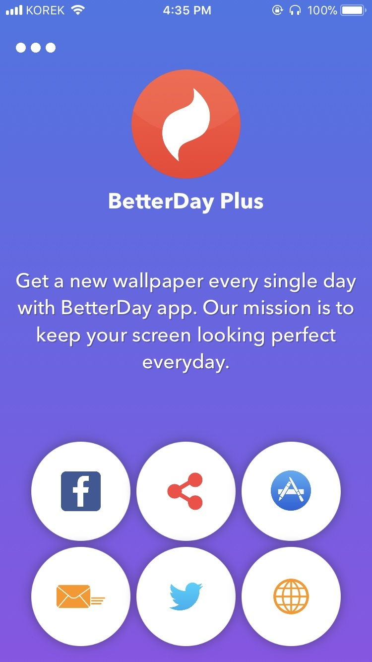 BetterDay App Xcode Project