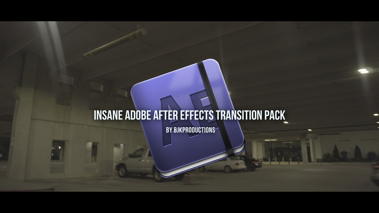 INSANE Adobe After Effects Transitions Pack