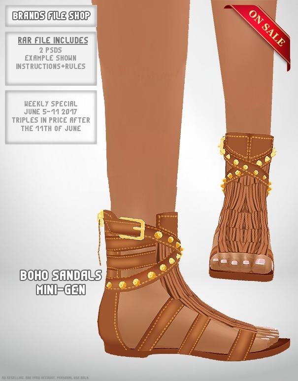 Boho Sandals Mini-Gen